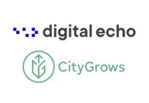 digital echo and city grows logos