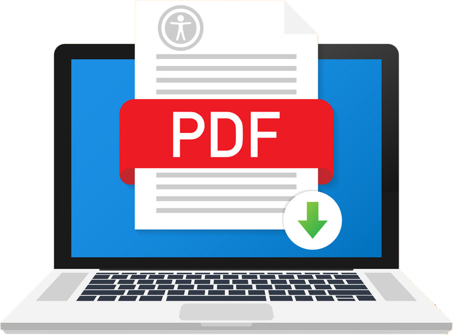 Accessible PDF Illustration