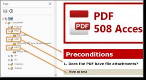 editing a 508 compliant pdf
